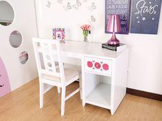 escritorio blanco es parte de mi vida