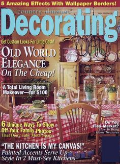 Country Home Decorating Magazine