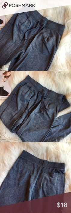Gray joggers Comfortable and perfect for any outfit or just to sleep in. In great condition. One once. Light weight. H&M Pants Track Pants & Joggers
