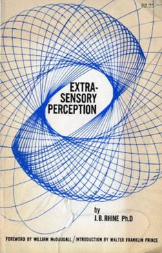 Extrasensory Perception (book) - Wikipedia, the free encyclopedia Book Cover Art, Book Art, Slinky Toy, Library Of Alexandria, Vintage Book Covers, Science Books, Perception, Super Powers, Book Design