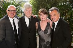 David Lynch, Lara Flynn Boyle, Ray Wise with Dennis Szakacs. May 17, 2013.  Photo Credit: Ryan Miller for Capture Imaging