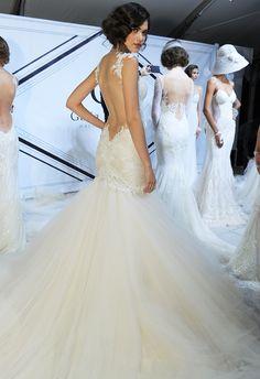 Backless Wedding Dress | Galia Lahav Spring/Summer 2015 | blog.theknot.com