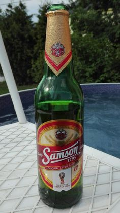 Samson, FIFA WORLD CUP, RUSSIA 2018. Czech beer.