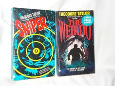 2 Theodore Taylor Paperback Books The Weirdo Sniper