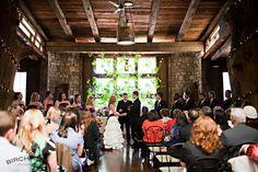 wedding inside the green gables restaurant in jennerstown, pennsylvania