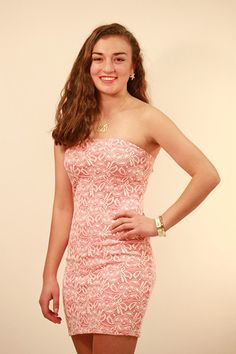Lace Tube Dress for $26