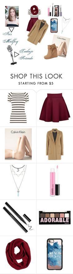 """Iris Malfoy"" by yatzilgirl on Polyvore featuring moda, Oasis, Calvin Klein, mel, Cambio, NYX, prAna, Casetify y Maybelline"