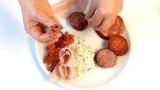 výroba salámových růží - YouTube Party Platters, Garlic, Meat, Vegetables, Youtube, Food, Essen, Vegetable Recipes, Meals