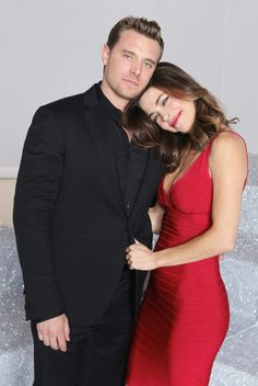 The Young and the Restless Photos: Billy Miller and Amelia Heinle on CBS.com