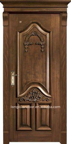Solid wood door1.Luxurious crafts2.Crack resistant 3.Wooden door4.Environmental painting