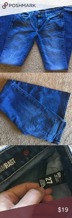 William Rast Jeans In excellent condition!  Slightly distressed look (from the factory). William Rast Jeans