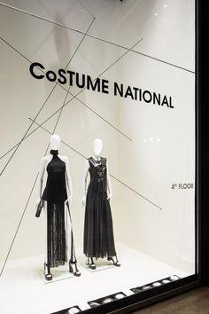 Costume National Window Design