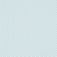 Tissu zigzag bleu - Anna Ka Bazaar.com