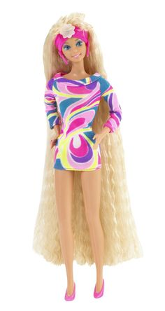 Totally Hair Barbie...One of The Only Barbies I Ever Really Liked...Because She Had Long Blonde Hair Like Me.