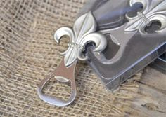 KNIGHT SET OF 3 CROWN STAINLESS STEEL BOTTLE OPENER CHROME FINISHED KITCHEN