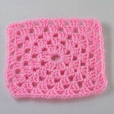 Basic Rectangle Granny - 24 Easy Crochet Granny Squares http://www.allfreecrochetafghanpatterns.com/Individual-Squares/Easy-Crochet-Granny-Square-Patterns