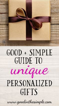 If you like to give gifts that are personal, fun, and unique, this gift guide is for you! These are gifts that are affordable and great for Christmas or any special occasion.