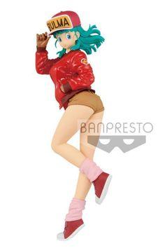 Dragon Ball Z Glitter/&Glamours Bulma Buruma Normal Color Ver PVC Figure No Box
