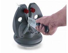 Rapid Steel action- set  .Varrillas con capa especial  Afila cuchillos sin filo .El resultado es un filo como una hoja de afeitar  Afilador