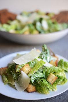 Classic Caesar Salad | Cupcakes & Cashmere