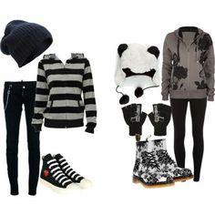 Cute scene emo clothes