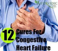 12 Natural Cures For Congestive Heart Failure [toc]Congestive heart failure occurs when the heart becomes too weak and energy starved to be able to pump blood normally to satisfy the needs of the body. Congestive Heart Failure Diet, Heart Failure Treatment, Heart Disease Treatment, Heart Disease Symptoms, Lyme Disease, Kidney Disease, Heart Healthy Diet, Healthy Foods, Bonbon