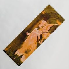 Guardian Angel - Gold Yoga Mat