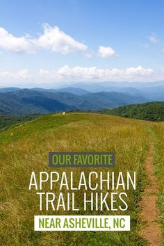 """Appalachian Trail in North Carolina: our favorite hikes near Asheville Use code """"PINME"""" for 40% off all hammocks on maderaoutdoor.com"""