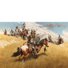Native American Warriors.