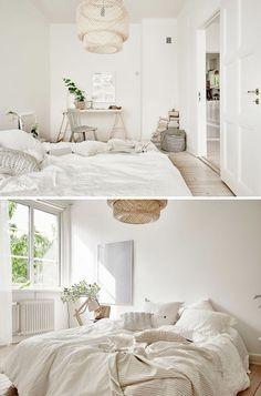 Minimalist Home Interior Dark minimalist bedroom cozy floors.Minimalist Home Interior Dark. Natural Bedroom, Natural Home Decor, Natural Bedding, Minimalist Bedroom, Minimalist Home, Minimalist Apartment, Minimalist Interior, Scandinavian Home Interiors, Colorful Interiors