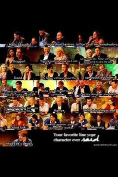 Favorite quotes from the cast.