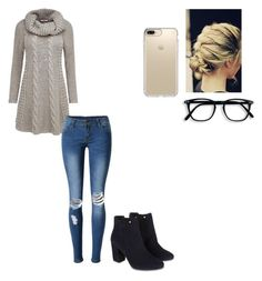 """""""Untitled #63"""" by asularin ❤ liked on Polyvore featuring Joe Browns, Monsoon, WithChic and Speck"""