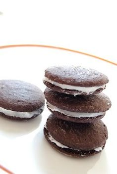 This gluten-free Oreo recipe is amazing! Intense chocolate flavor of an Oreo, with all the goodness of a homemade cookie!