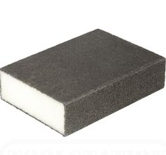 get rid of the lime scale ring in the toilet bowl, bathroom ideas, cleaning tips, This foam sanding tool is fine grit