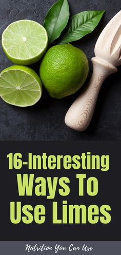 16-Interesting ways to use limes. Here are 16-creative ways you can use leftover limes in your kitchen and to boost your health. Lemon Health Benefits, Lime Essential Oil, Cilantro Lime Chicken, Chocolate Chunk Cookies, Best Supplements, Homemade Skin Care, Lemon Water, Limes, Lime