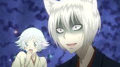 When Nanami chooses Mizuki over Tomoe to go to the god meeting. -- Anime, Kamisama Hajimemashita, Kamisama Kiss, moments, scenes, screenshot, characters, hilarious expressions