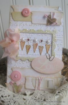 Adorable Card Inspiration, love the hearts!