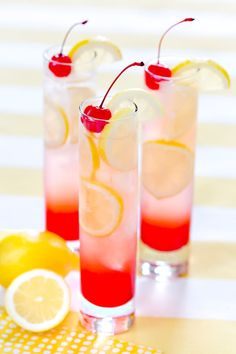 Refreshing Cherry Lemonade, my go to recipe! http://Pizzazzerie.com