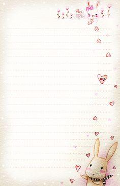 Amor Bunny - Carta de papel por Tho-ser