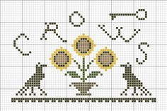 ~*Sunflowers N Crows Freebie*~ || primitivebetty