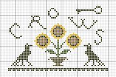 ~*Sunflowers N Crows Freebie*~ by primitivebettys, via Flickr
