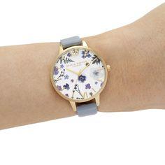 Olivia Burton Artisan vegan Ladies Watch (OB16AR08) MultiColour   WatchShop.com™ Cheap Gifts, Olivia Burton, Cheap Shoes, Gold Watch, Watches For Men, Floral Prints, Artisan, Quartz, Rose Gold