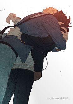 Comedic Yaoi Novels to Read Tsukishima X Yamaguchi, Tsukishima Kei, Kuroo Tetsurou, Hinata Shouyou, Kagehina, Haikyuu Ships, Haikyuu Fanart, Haikyuu Anime, Hot Anime Boy