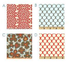 "Custom Cafe' Panels - (2) Curtain Panels - 42"" x 36"" -  You Pick the Fabrics - Cherry Red Grey Blue. $90.00, via Etsy."