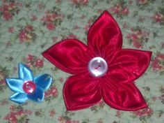 Ribbon and fabric flowers--crazy easy! :  wedding flowers diy crafts Flowers