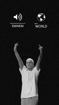 Eminem Wallpaper Iphone, Eminem Wallpapers, Rap Wallpaper, Eminem Funny, Eminem Rap, Arte Do Hip Hop, Hip Hop Art, Music Cover Photos, Music Covers