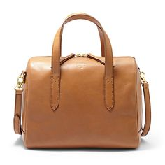 Sydney Satchel in Camel by Fossil