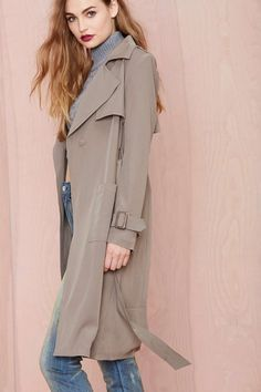 Let It Reign Trench Coat | Nasty Gal Clothing