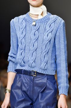 Trussardi 1911 at Milan Spring 2015