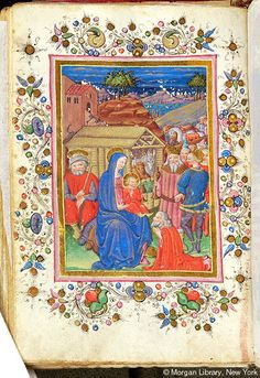 Adoration of the Magi | Book of Hours | Italy, possibly the Veneto | ca. 1425-1450 | The Morgan Library & Museum